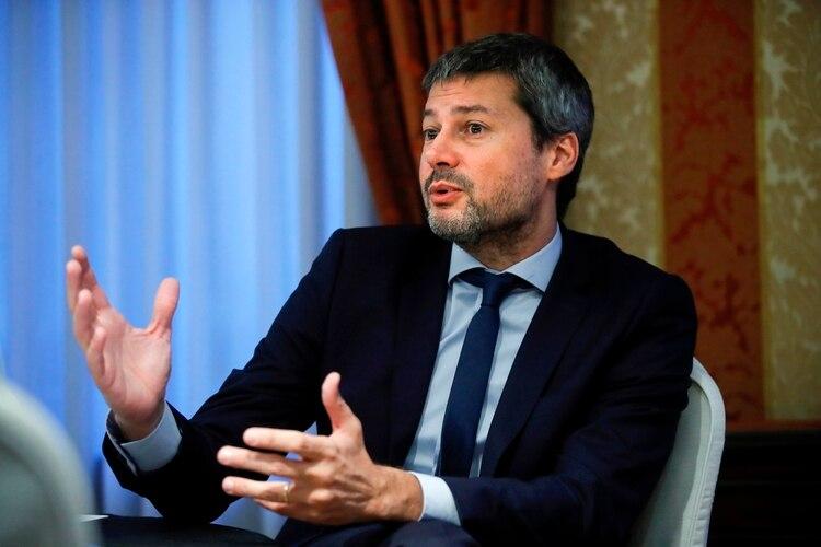 El ministro de Turismo y Deporte, Matías Lammens (EFE/Juan Carlos Hidalgo/Archivo)