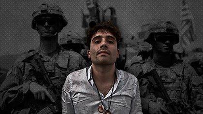 """La captura y posterior liberación de Ovidio, hijo del prominente narco """"Chapo"""" Guzmán, afectó la imagen de la actual administración (Fotoarte: Jovani Pérez Silva/ Infobae México)"""