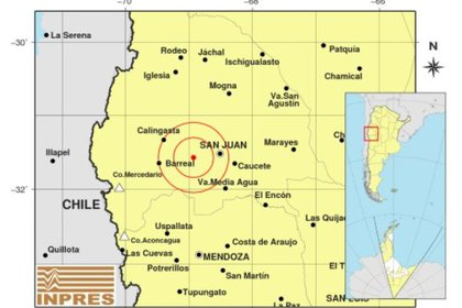 El sismo más fuerte ocurrió a última hora de este miércoles