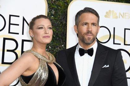 Blake Lively y Ryan Reynolds . (Photo by Frazer Harrison/Getty Images)