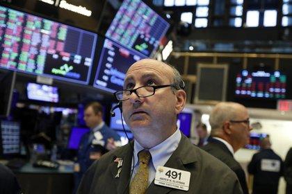 La actividad en la Bolsa de Valores de Nueva York (AP Photo/ Richard Drew, File)
