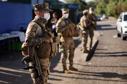 Chile se encuentra en estado de catástrofe por el avance del coronavirus (REUTERS/Jose Luis Saavedra)