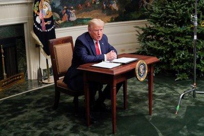 El presidente de los Estados Unidos, Donald Trump. Foto: REUTERS/Erin Scott