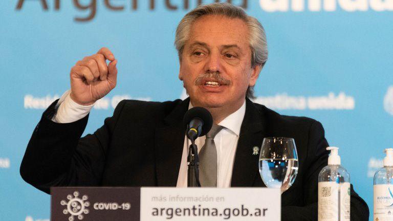 Alberto Fernandez enojado 4