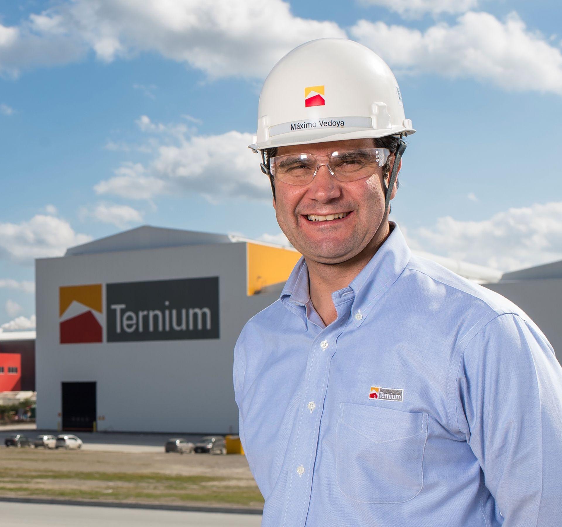 Máximo Vedoya, CEO de Ternium