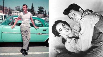 Rock Hudson era una celebridad. Su pareja con Doris Day proponía un amor inocente. Sus películas con Elisabeth Tayor rompían la taquila (Reuters)