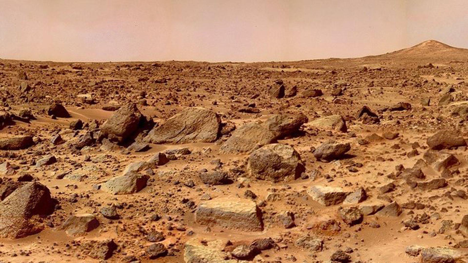 Científicos de todo el mundo se esperanzan con un futuro viaje a Marte (NASA)