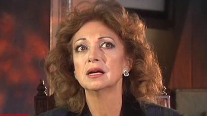 Elizabeth Dupeyrón está hundida en el dolor por la pérdida de su hijo  (Foto: Captura de pantalla)