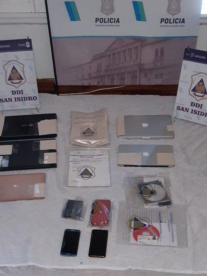 En la casa de Luque se secuestró la historia clínica de Maradona, comptuadoras y documentación