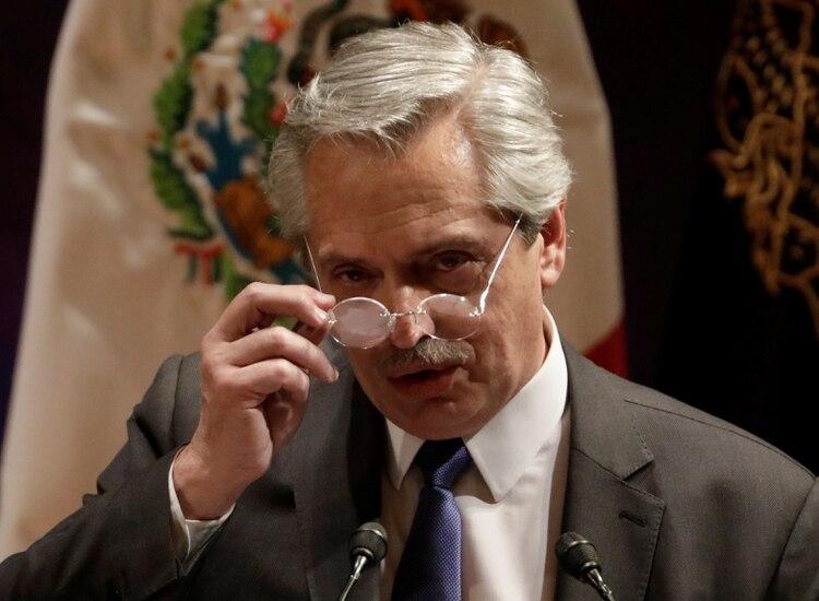 Alberto Fernández en la UNAM de México