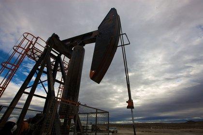 Uno de los pozos petroleros de la empresa en la Patagonia