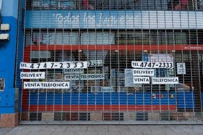 Los comerciantes poteños solicitan que se habilite la venta por delivery (Foto: Franco Fafasuli)