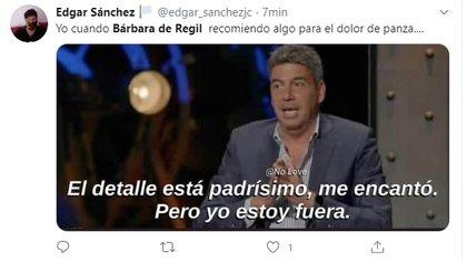 Elías Ayub apareció en uno de los memes sobre Bárbara de Regil