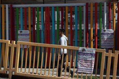 Escuelas Cerradas y vacías es el resultado de la pandemia de Coronavirus, ha paralizado a escuelas y centros de trabajo (Foto: Cuartoscuro)