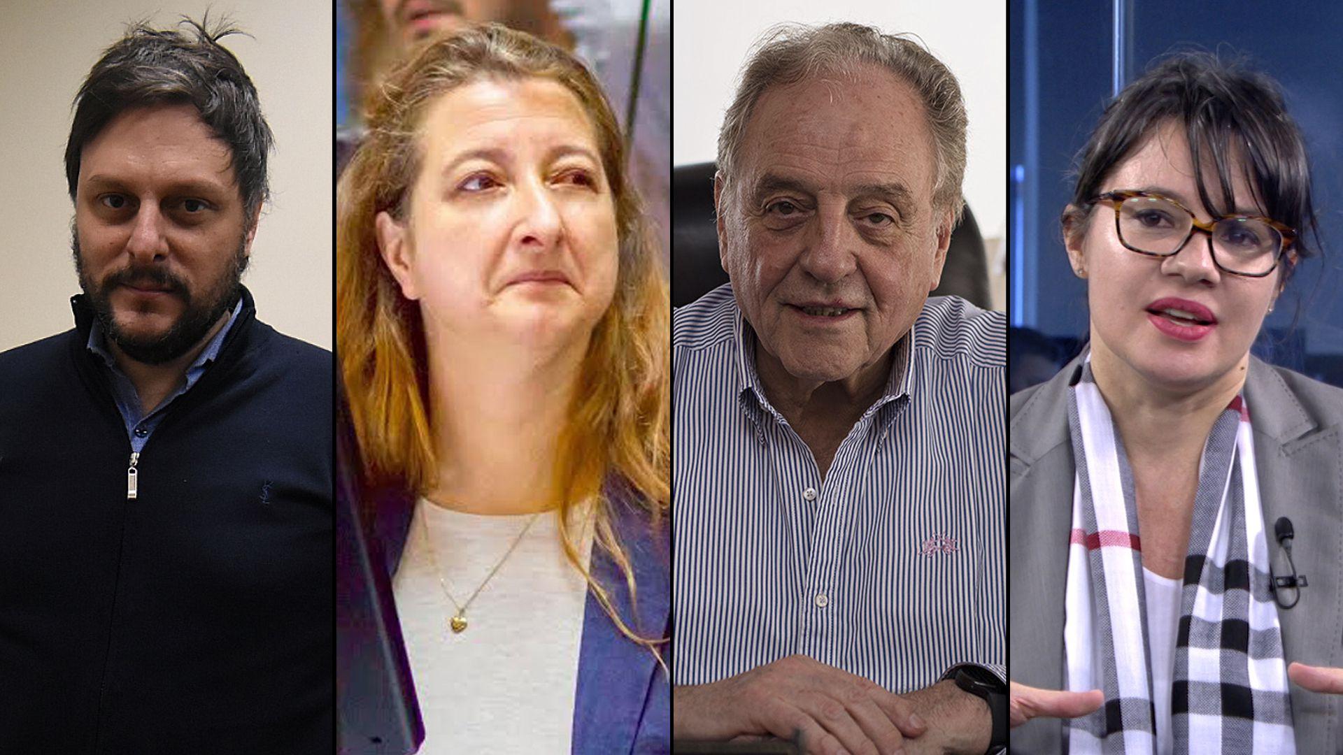 Leandro Santoro Marías Rosa Muiños Carlos Heller Gisela Marziotta