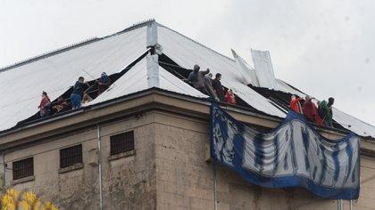 El motín de la cárcel de Villa Devoto