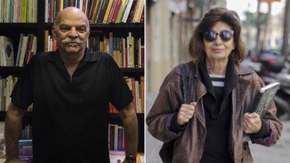 Martín Caparrós y Ana Basualdo