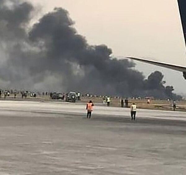 El pasado 18 de mayo, un avión se accidentó poco después de despegar del Aeropuerto Internacional José Martí