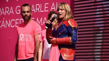 Marcela Martinelli fue diagnosticada y sobrevivió al cáncer de mama pero actualmente se encuentra con un diagnostico de cáncer de huesos