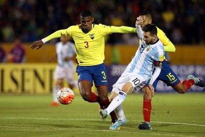 La Argentina debutará ante Ecuador en Buenos Aires (Reuters)