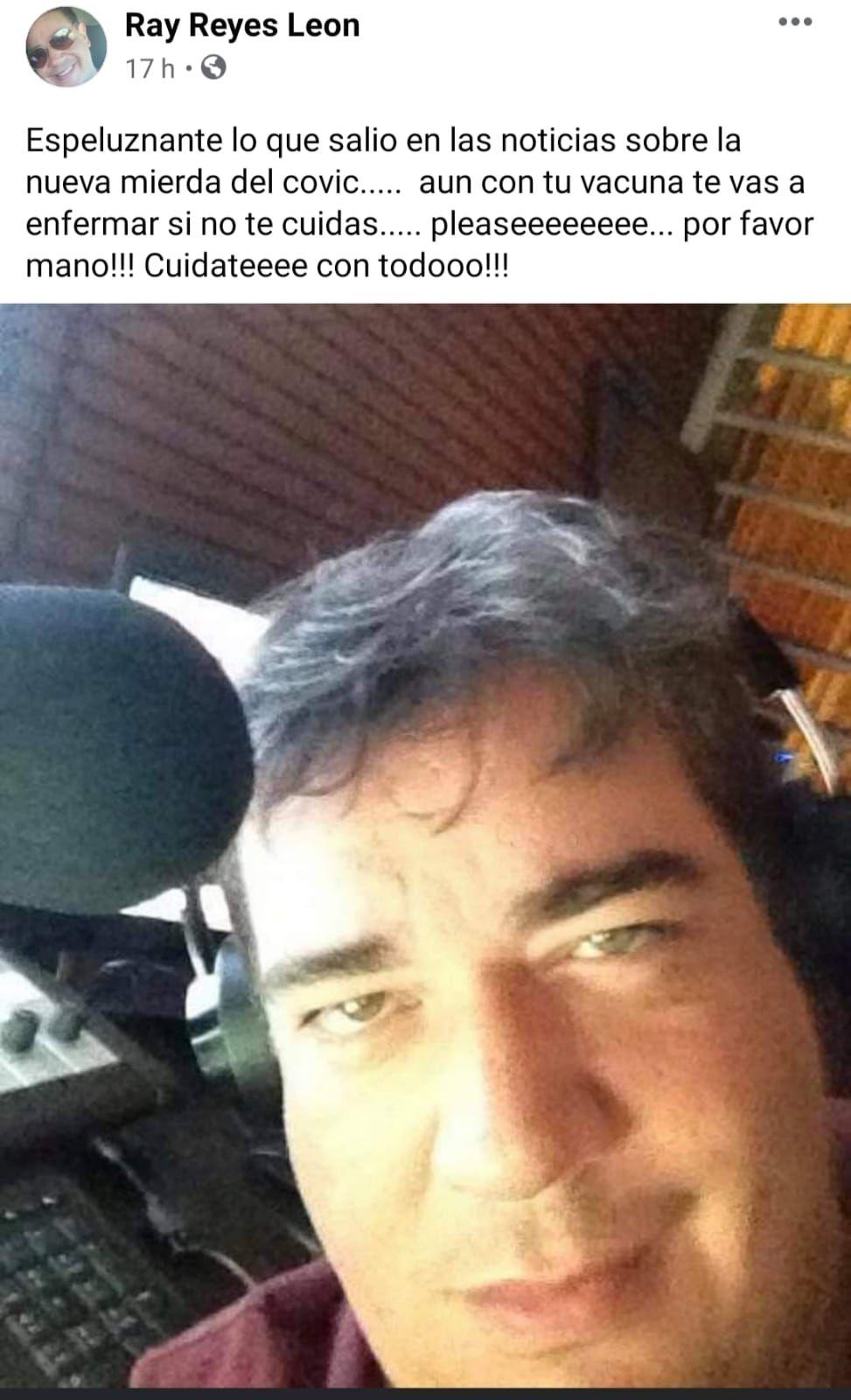 Murió Ray Reyes, ex Menudo
