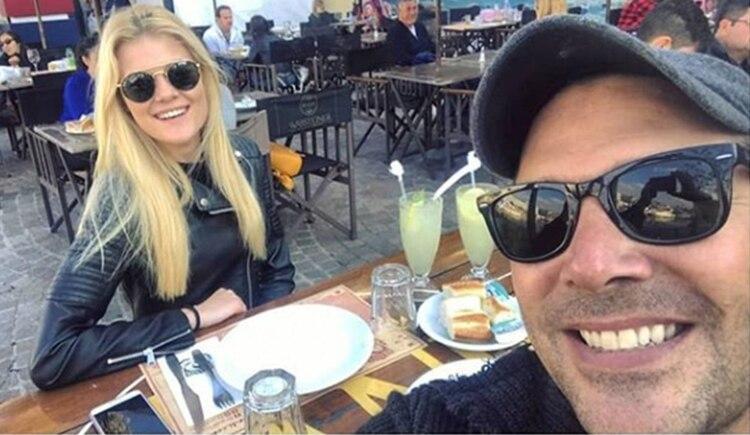 Matías Alé y Caterina Pugin (Instagram)