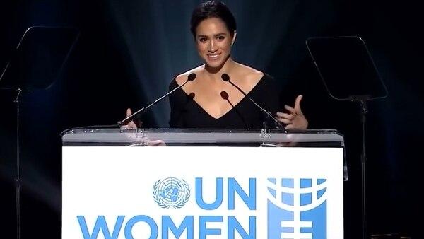 Meghan Markle se convirtió en el embajadora de la ONU en 2005
