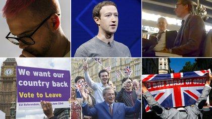 Cambridge Analytica también usó datos de Facebook para influir a los votantes a favor del Brexit.
