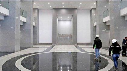 Algunos materiales para el nuevo palacio han sido importados de Alemania, EEUU y China