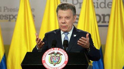 Juan Manuel Santos, presidente de Colombia (EFE)