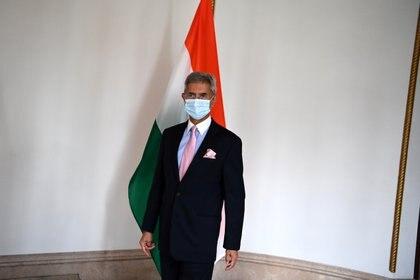 El canciller de la India, Subrahmanyam Jaishankar. (Foto: Charly Triballeau/Reuters)
