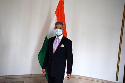 Foto de archivo: El canciller indio Subrahmanyam Jaishankar en Tokio el 6 de octubre de 2020 (Charly Triballeau/Pool via REUTERS)
