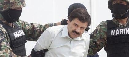 """La última captura del """"Chapo"""" Guzmán desató la guerra en Cártel de Sinaloa."""