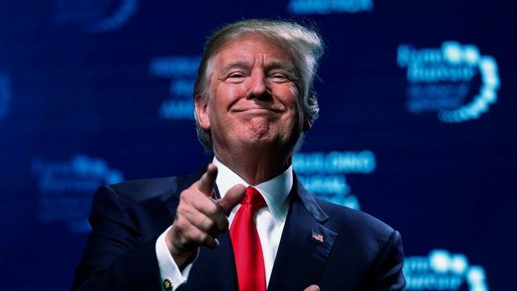 La cifra reunida por la campaña de Trump no es comparable con la última de Obama, ya que el ex mandatario se lanzó a la reelección en el segundo trimestre (Reuters)