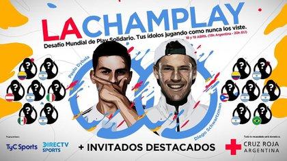 El tenista organizó un torneo virtual solidario con Paulo Dybala