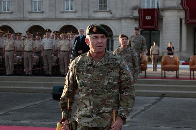 El jefe del Ejército, Agustín Cejas