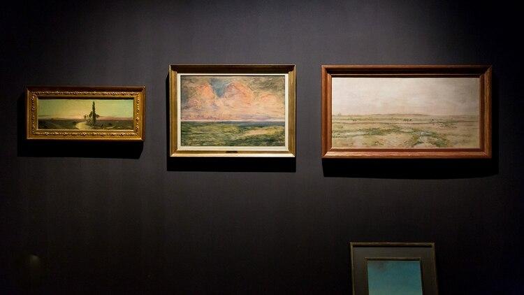 El horizonte pampeano en tres obras clásicas (Foto: Guido Limardo)