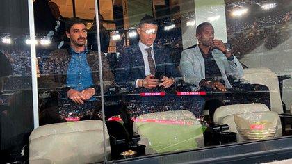 Cristiano Ronaldo en el Santiago Bernabéu (@carrusel)
