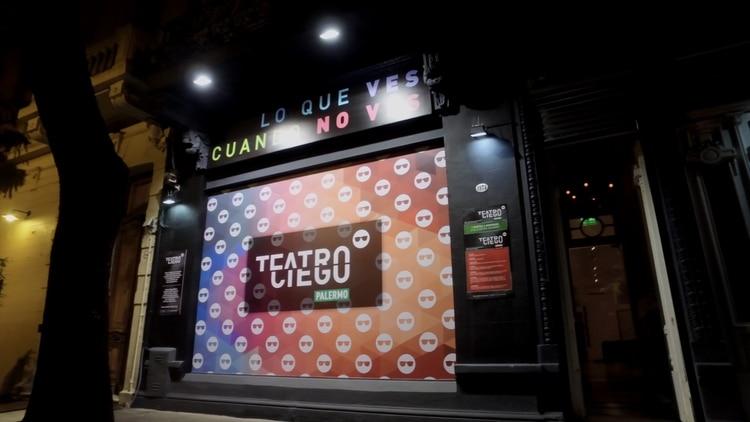 Teatro Ciego está ubicado en el barrio porteño de Palermo