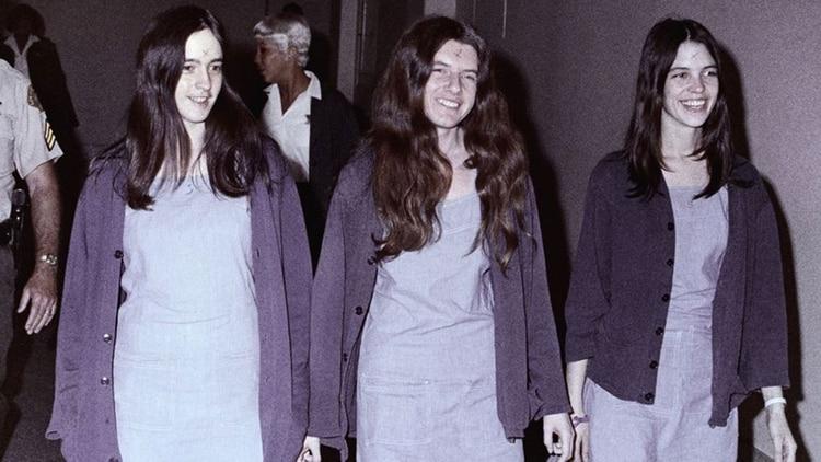 Susan Atkins, Patricia Krenwinkel y Leslie Van Houten formaron parte del Clan Manson