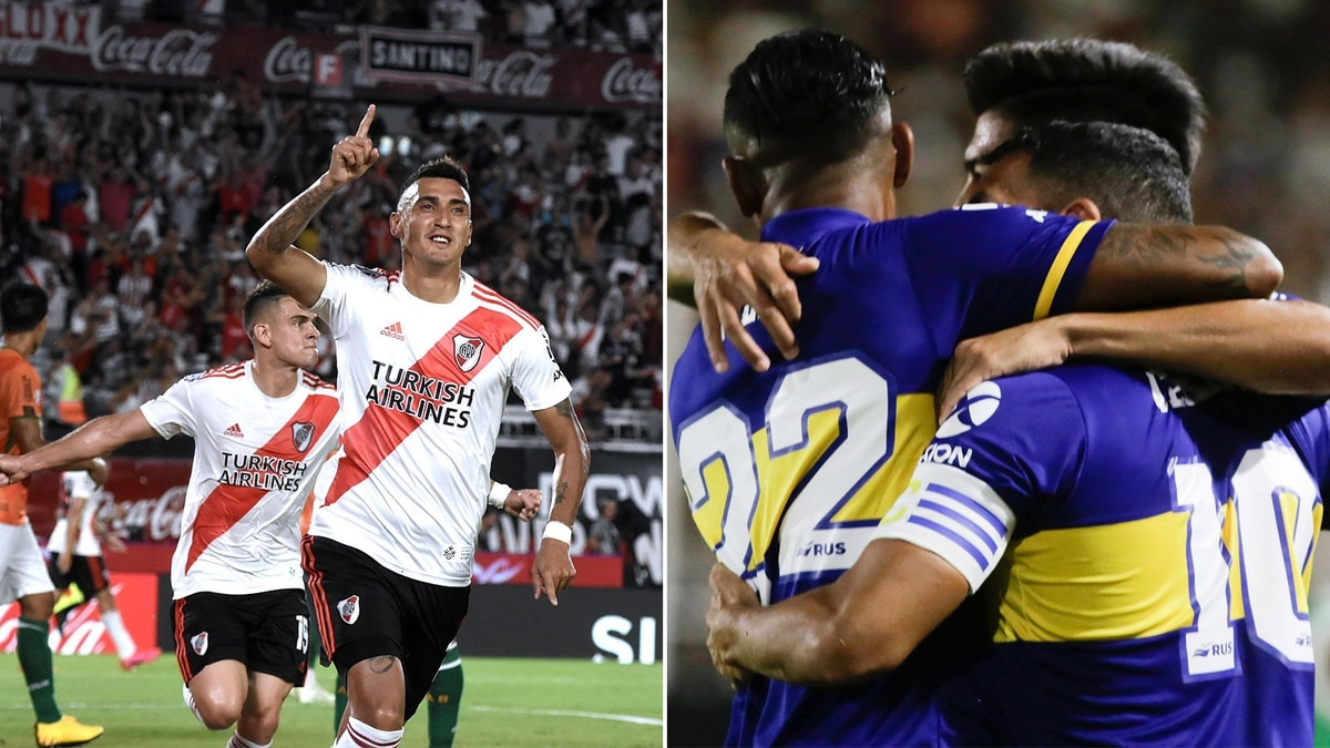 River y Boca pelean mano a mano el título de la Superliga: así está la tabla y qué le queda por jugar a cada uno - Infobae