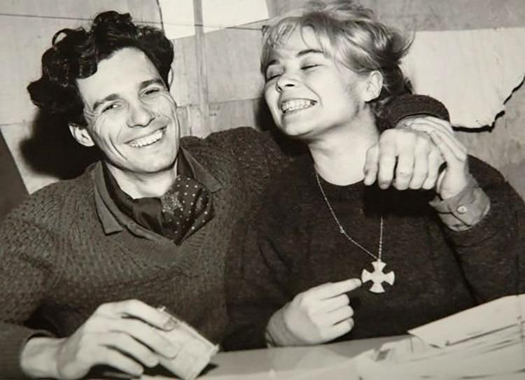 Dardo Cabo y Cristina Verrier