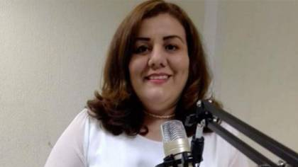 Mireya Ulloa, directora editorial de La Opinión de Poza Rica fue apuñalada. Se reporta estable (Foto: Twitter@laopinionpr)