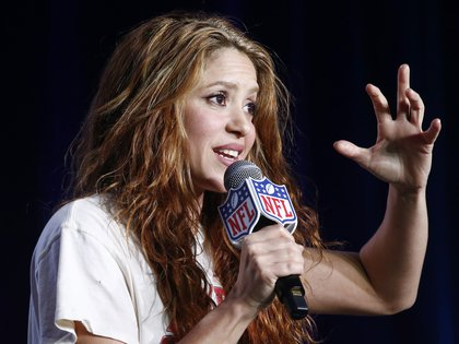 La cantante colombiana Shakira. EFE/EPA/LARRY W. SMITH/Archivo