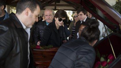 En septiembre del año pasado, la actriz despidió los restos de su madre en medio de un profundo dolor (Adrian Escandar)