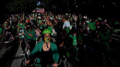 Una caravana verde pidió por lo que finalmente sucedió hoy (Nicolás Stulberg)