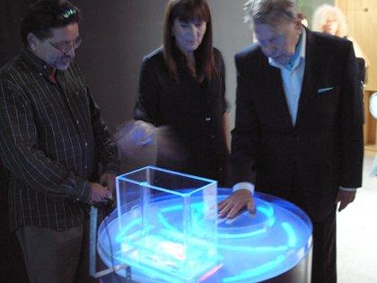 Gyula en la Primer Bienal