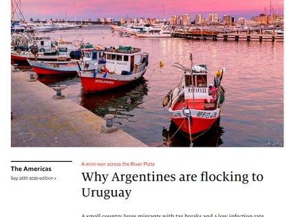 The Economist afirma que la gestión competente de Uruguay del Covid-19 puede haberse convertido en un atractivo todavía mayor que los incentivos fiscales para extranjeros