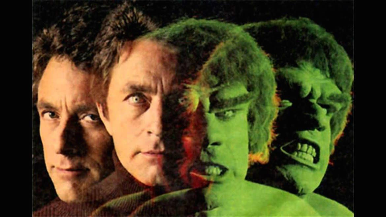 Bill Bixby y Lou Ferrigno, las dos caras de Hulk