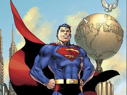 La portada del Número 1000 fue ilustrada por Jim Lee (DC Entertainment/The Washington Post)